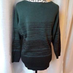H&M Oversized Dark Green Sweater XS